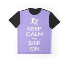 Keep Calm and Ship On Graphic T-Shirt