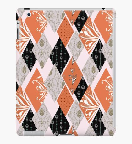 Patchwork floral seamless pattern texture background iPad Case/Skin