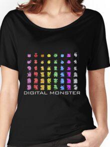 Digital Monster Women's Relaxed Fit T-Shirt