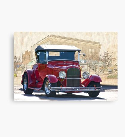 1929 Ford 'Old Town' Roadster Canvas Print