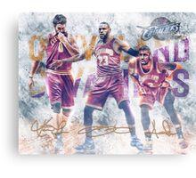 Cleveland Basketball Sports Art James Love Irving Canvas Print