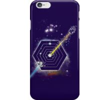 Space and Time Fragmentation Ship iPhone Case/Skin