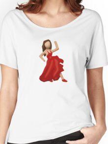Dancer Emoji Women's Relaxed Fit T-Shirt