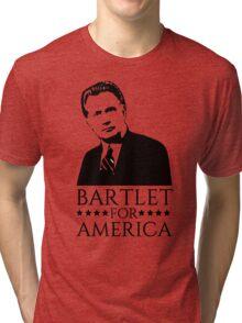 Bartlet for America West Wing Design Tri-blend T-Shirt