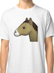 Horse Face Emoji Classic T-Shirt