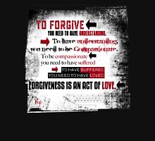 FORGIVENESS Women's Fitted Scoop T-Shirt