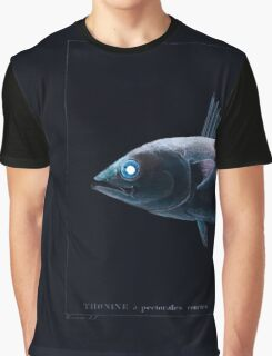 Natural History Fish Histoire naturelle des poissons Georges V1 V2 Cuvier 1849 032 Inverted Graphic T-Shirt