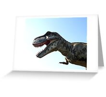 TRex Greeting Card