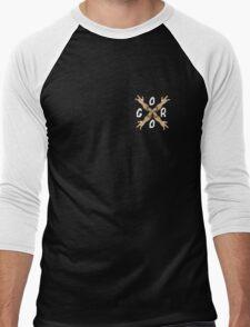 GORO Men's Baseball ¾ T-Shirt
