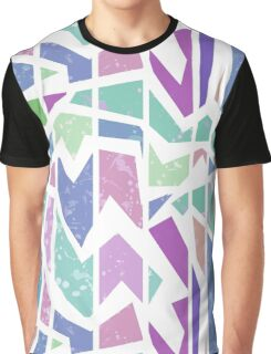 Abstract bright geometric seamless pattern print Graphic T-Shirt