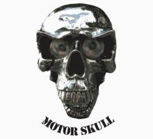 Chrome Head Skull ! Kids Tee