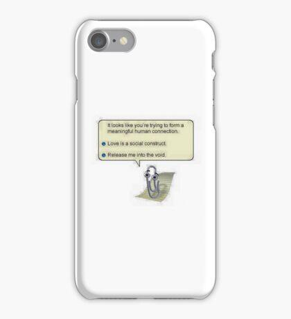 PostModern Clippy iPhone Case/Skin