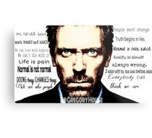 House MD quote Metal Print