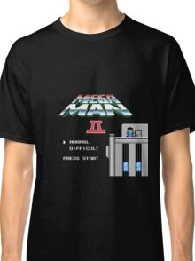 Megaman 2 - He's up on the effin' roof Classic T-Shirt