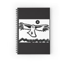 Old Boy Riding High original painting Spiral Notebook