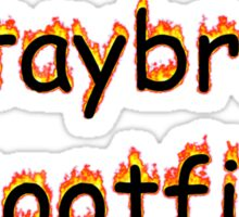 #STAYBROKESHOOTFILM Sticker