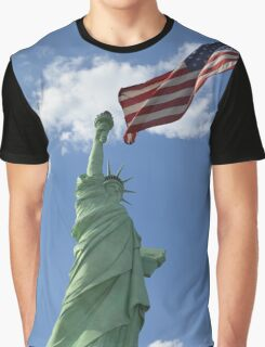 Liberty & Justice Graphic T-Shirt