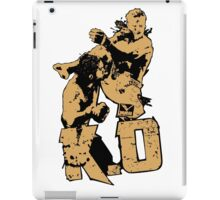 fighter deadly punch KO iPad Case/Skin