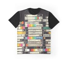VHS Stack Graphic T-Shirt