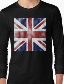 United Kingdom British flag Long Sleeve T-Shirt