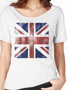 United Kingdom British flag Women's Relaxed Fit T-Shirt