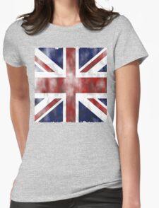 United Kingdom British flag Womens Fitted T-Shirt