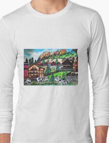 Tyroler Cows Long Sleeve T-Shirt