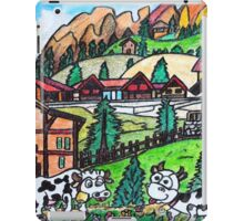 Tyroler Cows iPad Case/Skin