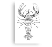 Art Lobster Canvas Print
