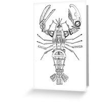 Art Lobster Greeting Card