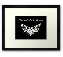 Wh40k Gold Eagle Framed Print