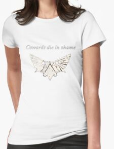 Warhammer 40k Gold Eagle Womens Fitted T-Shirt