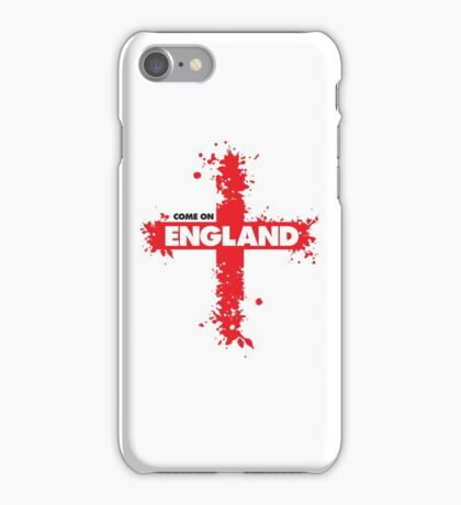 Come on England! iPhone Case/Skin