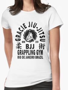 Gracie Jiu Jitsu Womens Fitted T-Shirt