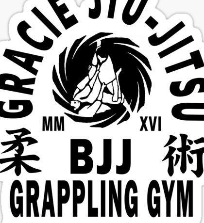 Gracie Jiu Jitsu Sticker