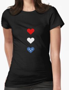 American Hearts Womens Fitted T-Shirt