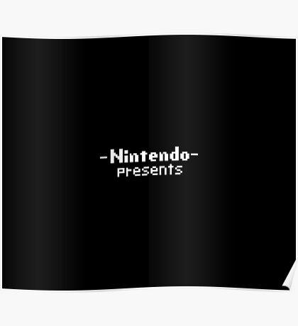Nintendo Presents Poster