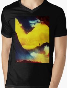 This volcano is mine Mens V-Neck T-Shirt