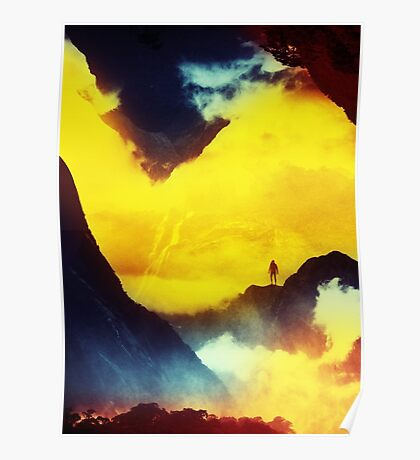 This volcano is mine Poster