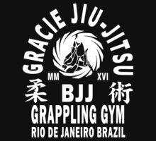 Gracie Jiu Jitsu One Piece - Short Sleeve