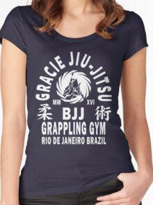 Gracie Jiu Jitsu Women's Fitted Scoop T-Shirt