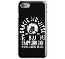 Gracie Jiu Jitsu iPhone Case/Skin