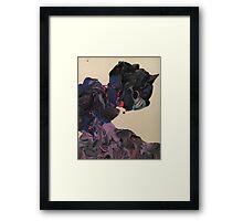 Unihorned cute thing Framed Print