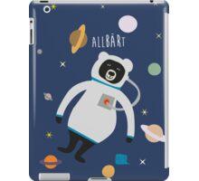 Allbärt. Bear in Space. iPad Case/Skin