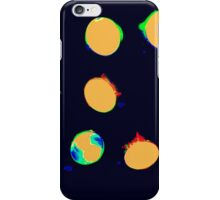 COLORED LIGHT BULBS iPhone Case/Skin