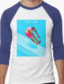 Athletics Jump 2016 Summer Games  Men's Baseball ¾ T-Shirt