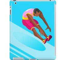 Athletics Jump 2016 Summer Games  iPad Case/Skin