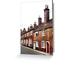 Cottages Greeting Card