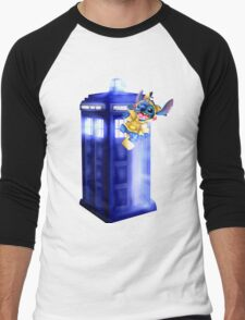 Doctor Stitch + Pikacchu  Men's Baseball ¾ T-Shirt