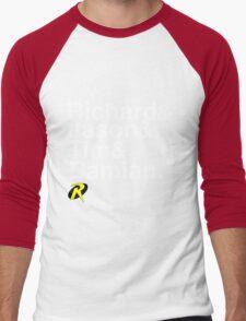 Richard & Jason & Tim & Damian. Robin T-shirt and more  Men's Baseball ¾ T-Shirt